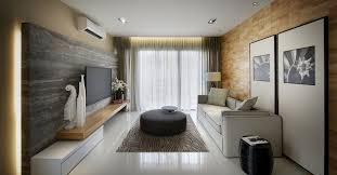 Small Picture Marble Tiles Living Room Modern Townhouse in Kuala Lumpur