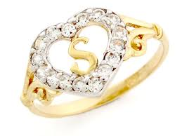 s p 500 historical charts gold heart shape letter s initial cz ring jewelry jl 2381