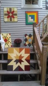 Quilt Patterns For Barn Art Classy Indian Star Barn Quilt Rural Guthrie Center IA Painted Barn