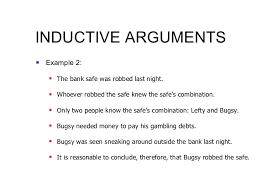 analysis inductive and deductive arguments  14 inductive arguments