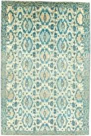 blue ikat rug 6 x and tan wool jaakko blue ikat rug blue ikat kilim rug