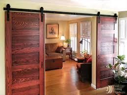 Rustic Room Divider Sliding Panels