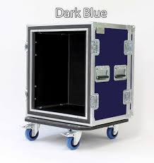 Kent Custom Cases Shock Mount Rack Case With Casters