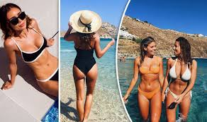 Instagram's hottest bikini babes share their holiday snaps from ...