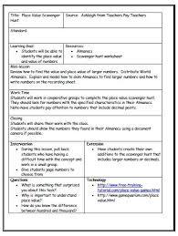 Work Plan Formats Image Result For Lesson Plan Formats For Introducing Decimals Grade