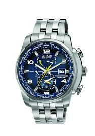 citizen eco drive world time men s stainless steel bracelet watch