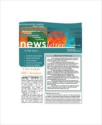 Open Office Newsletter Template Sample Office Newsletter 7 Documents In Pdf