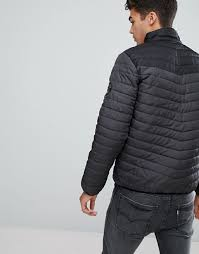 Brave Soul | Brave Soul Zip Through Quilted Jacket &  Adamdwight.com