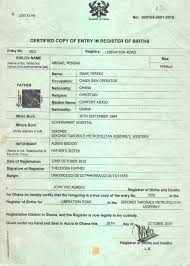 Sample Of A Filled Ghanaian Passport Form Gws Online Gh