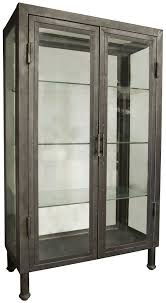 Industrial Bar Cabinet Noir