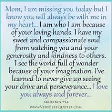 Quote | Susan Wiggs: There is something about losing your mother ... via Relatably.com