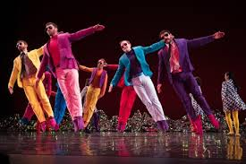 Dance Group Colourful And Effervescent Mark Morris Dance Group In