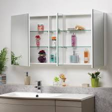 Bathroom Cabinets Genesis Options Mirrored Bathroom Mirror