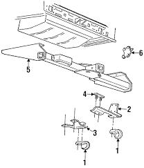 Genuine tow hook reinforcement 52057763
