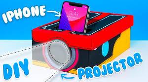 easy diys to do when you re bored diy smartphone projector tutorial