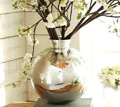 floor glass vases large vase elegant mercury living room accessories round standing clear