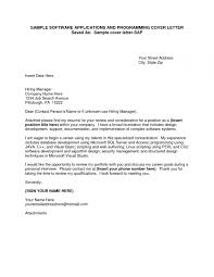 Sample Cover Letter For Unknown Position Guamreview With Cover