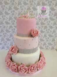 American Style Sweet 16 Birthday Cake Love This Idea Sweet Pink