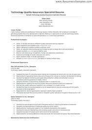Sample Resume For Quality Manager 2 Resume Example For Quality