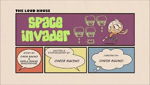 Space Invader Couch Space Invader The Loud House Encyclopedia Fandom Powered By Wikia