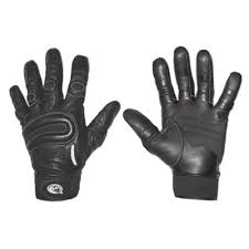 women s x large black driving gloves pair