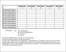 Raci Chart Template Excel Raci Chart Excel Davidhdz Co
