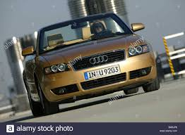 Car, Audi A4 Convertible, diesel engine, model year 2000-, gold ...