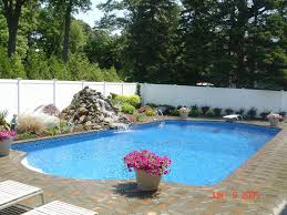 ... Fancy Swimming Pool Designs With Dark Pool Liners : Divine Swimming Pool  Decorating Ideas Using Silver ...