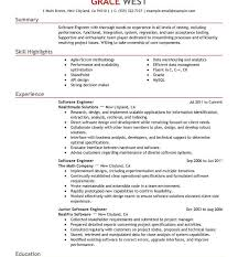 Free Resume Software Impressive Chemical Engineering Resume Sample Pdf Template Engineer Cv