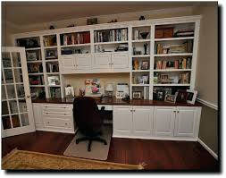 home office units. Office Wall Units Built In Cabinets Home With Desk 6