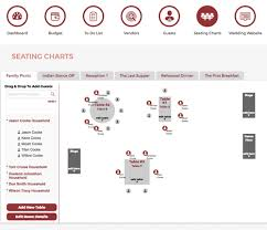 Wedding Table Planner Tool Seating Charts Plan Wed
