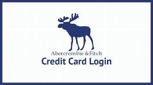 abercrombie fitch credit card login in 2017