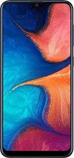 <b>Samsung Galaxy A20</b> (Blue, 3GB RAM, 32GB Storage) Without Offer ...