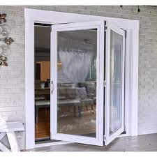 2 panel folding patio door kit