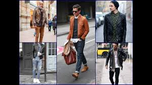 25 cool men s leather jacket outfits men s fashion lookbook