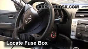 front turn signal change mazda 6 2009 2013 2012 mazda 6 i 2 5l interior fuse box location 2009 2013 mazda 6