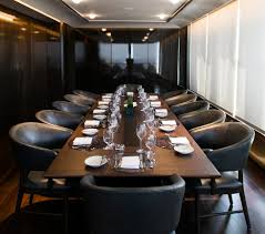 Private Dining Room Asiate  Columbus Circle One Of The Best - Private dining rooms sydney