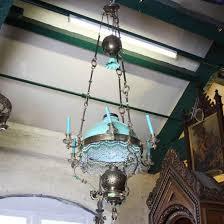 brass oil chandelier atvmlia0158