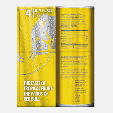 amazon red bull yellow edition tropical energy drink 13 13 fl