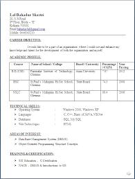 Sample Resume Format For Lecturer In Engineering College For Freshers    Resume For Lecturer In Engineering