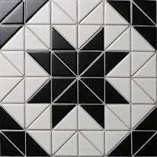 black and white tile floor patterns. Interesting Black TR2MWBDD09A Black White Artistic Tile Porcelain Mosaic To Black And White Tile Floor Patterns