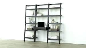 ikea ladder bookcase ladder bookcases bookcase with desk ladder bookcase with desk sawyer mocha leaning desk