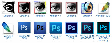 31 Years of Adobe Photoshop Design History - 101 Images - Version Museum