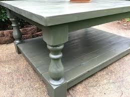 chunky turned coffee table legs wooden farmhouse tutorial with the kitchen delightful cof