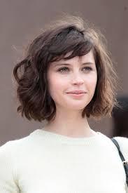um bob hairstyle short haircuts for wavy hair
