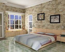 Small Picture Brick Wall Bedroom Brick Wall Bedroom Trend In Interior Designs