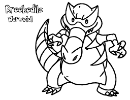 Krookodile Coloring Pages At Getdrawingscom Free For Personal Use