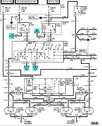 1995 chevy suburban brake light wiring