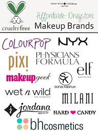 free cosmetics makeup brands affordable uk