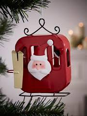 <b>Red</b> & White <b>Christmas Decorations</b>   George at ASDA
